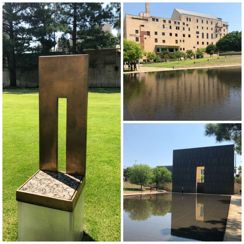 Our itinerary for Oklahoma City includes a moving visit to the Oklahoma City National Memorial and Monument.