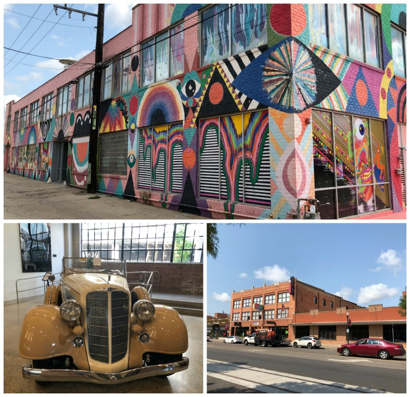 Our itinerary for Oklahoma City includes seeing the awesome street art.