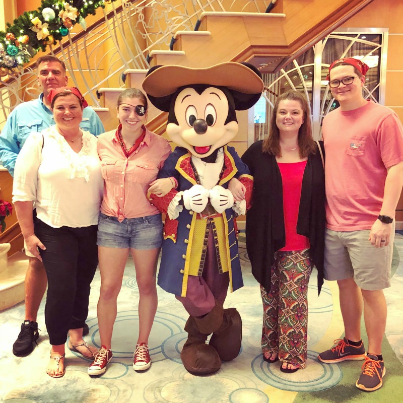 Getting a picture with Mickey Mouse is one things for adults to do on a Disney cruise.