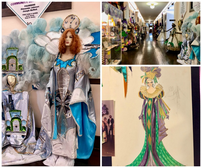 One of the extraordinary things in Lake Charles, Louisiana is the impressive Mardi Gras Museum.