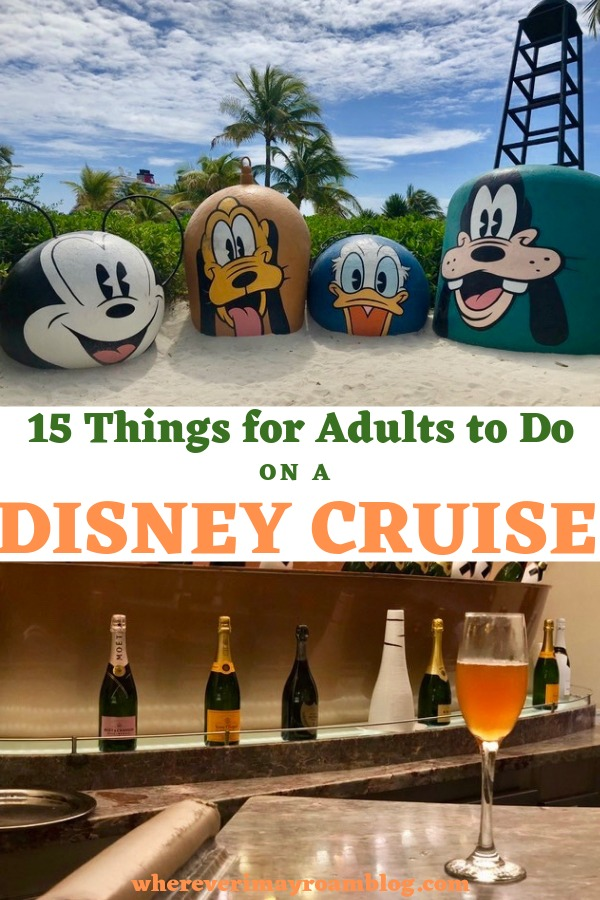 things for adults to do on a Disney cruise vacation pin