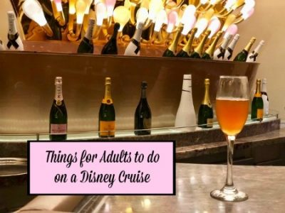 things for adults to do on a disney cruise vacation