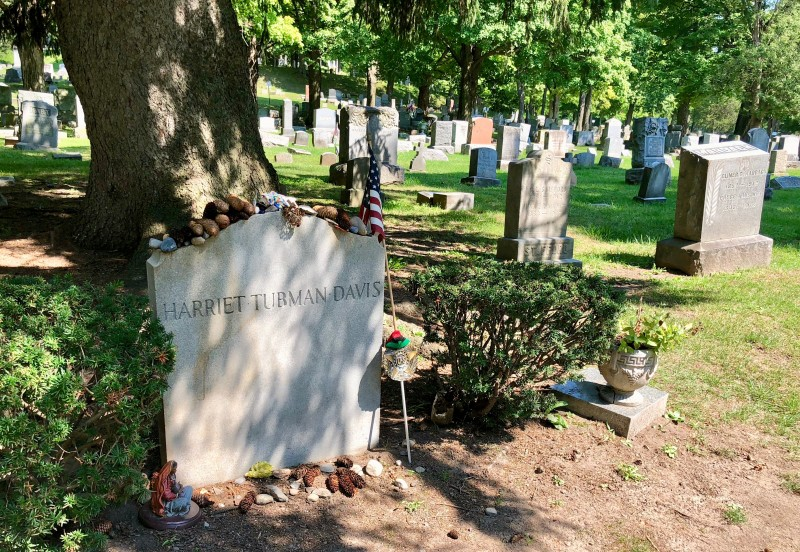 One of the best 50 things to do in upstate New York is visit the gravesite of Harriett Tubman.