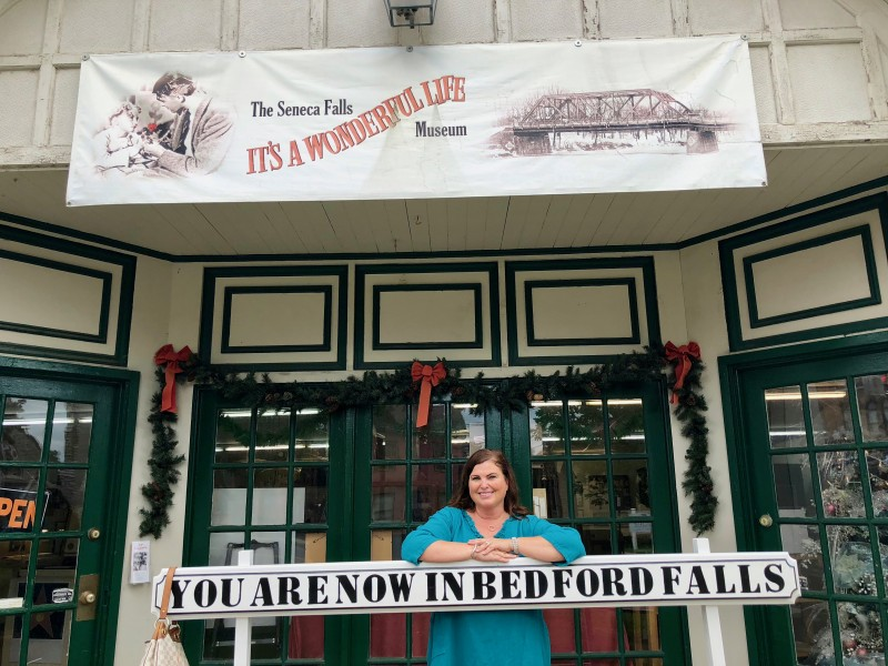 "One of the best 50 things to do in the Finger Lakes is to visit the beloved ""It's A Wonderful Life"" Museum."