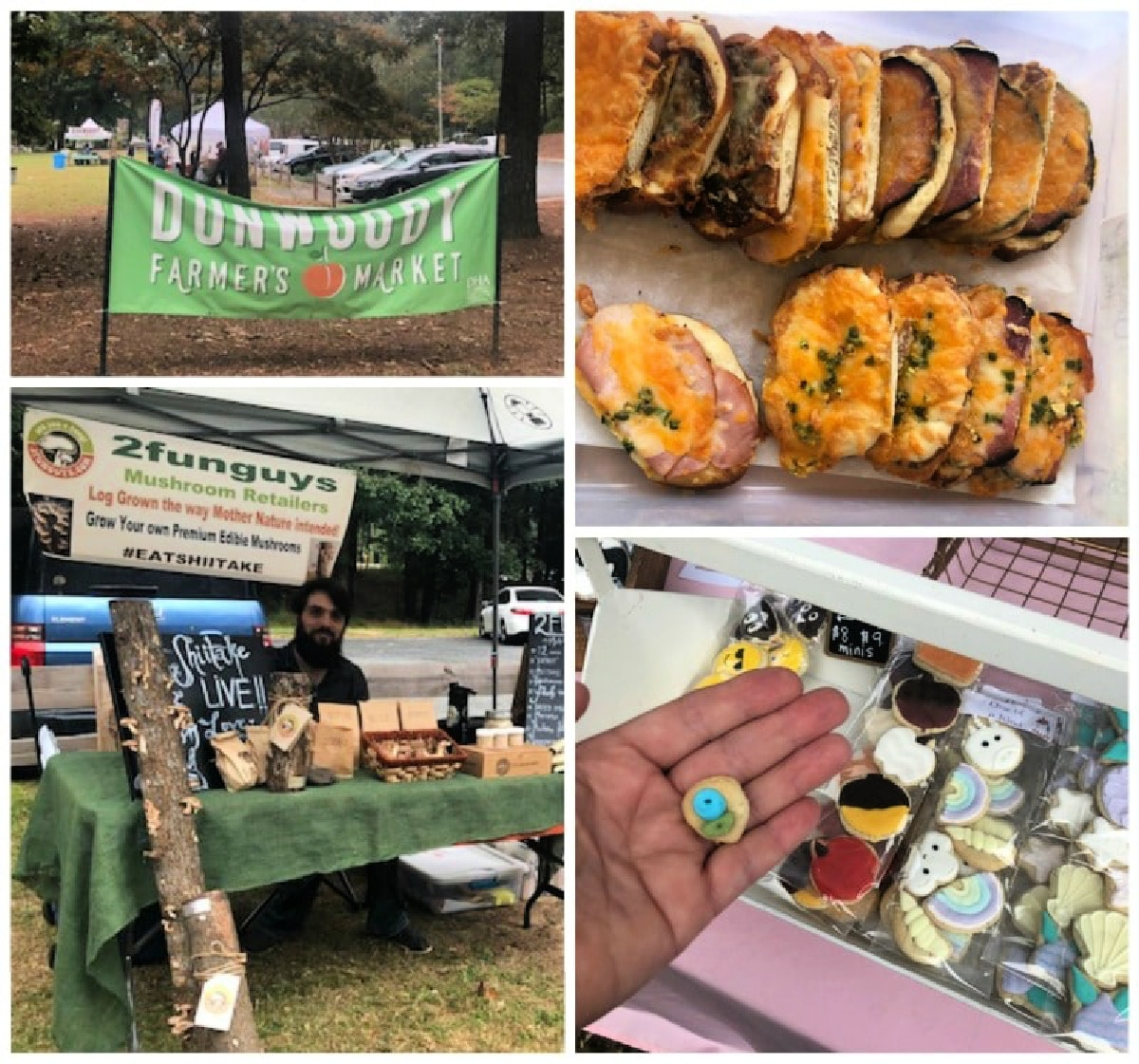 If your girls' weekend in Dunwoody falls on a weekend, be sure to take in the farmers' market at Brook Run.