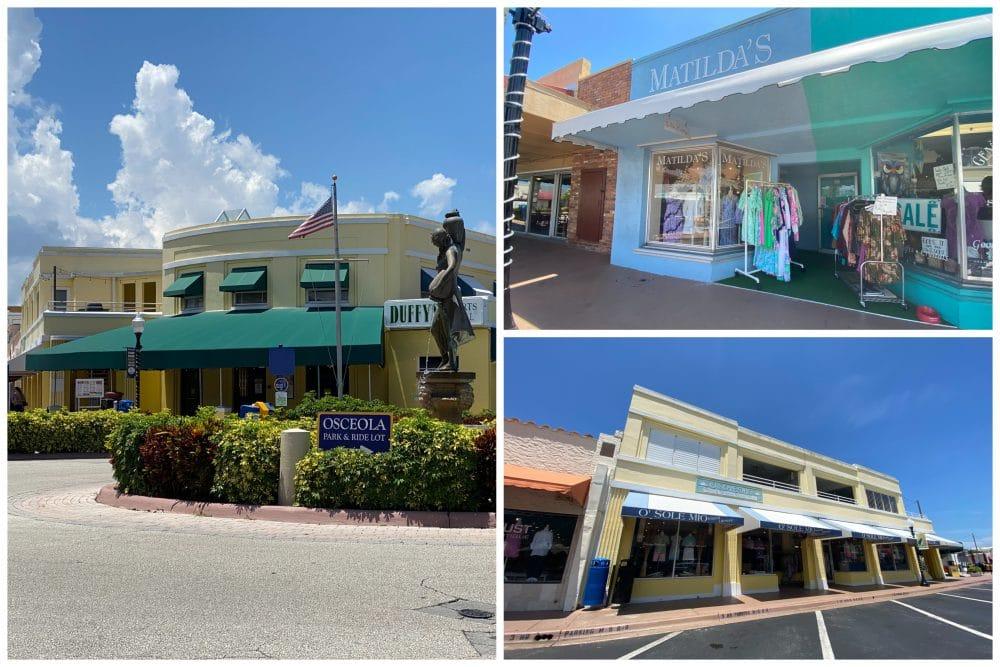 historic downtown Stuart florida local shops