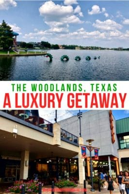 luxury getaway the woodlands texas pin