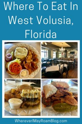 Our guide tell you the best places to eat in West Volusia (DeLand), Florida.