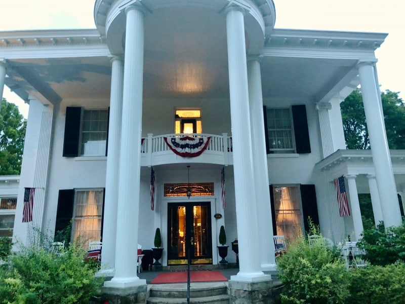 One of the best 50 things to do in the Finger Lakes is to stay at the lovely Allegiance Bed and Breakfast.