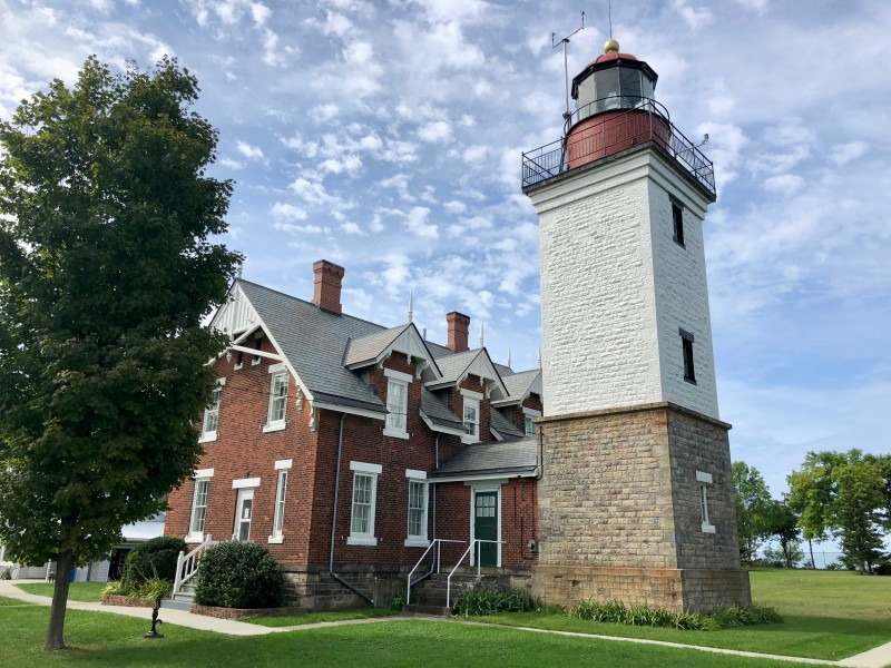 One of the best 50 things to do in the Finger Lakes is to tour the historic Dunkirk Lighthouse and Museum.