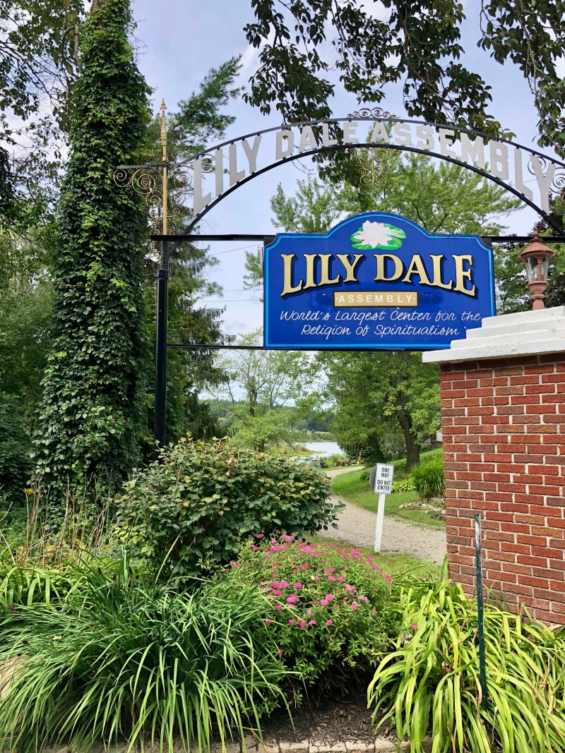 One of the best 50 things to do in the Finger Lakes is to visit the largest number of psychics and mediums in the world at the Lily Dale Assembly.