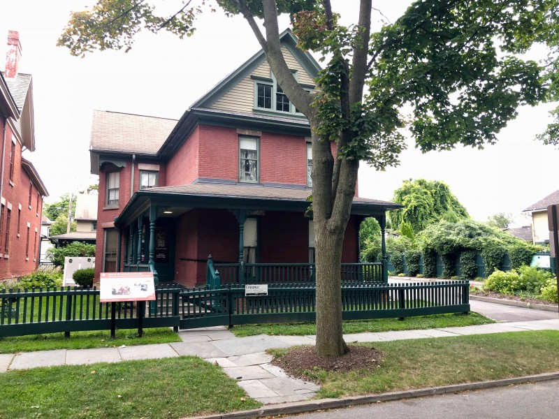 One of the best 50 things to do in the Finger Lakes is to tour the Susan B Anthony House.
