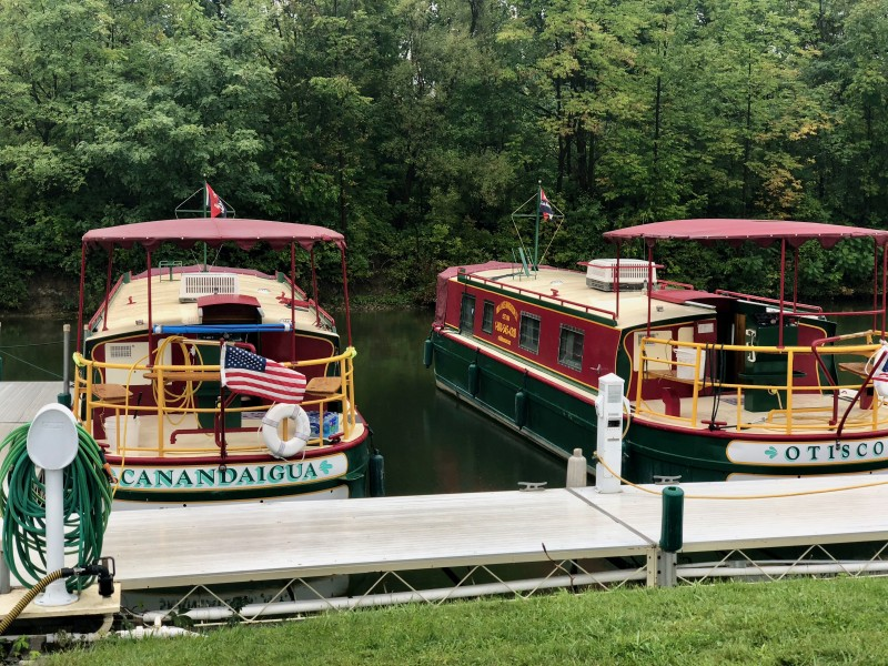One of the best 50 things to do in the Finger Lakes is take a houseboat out on the lake for a few days.