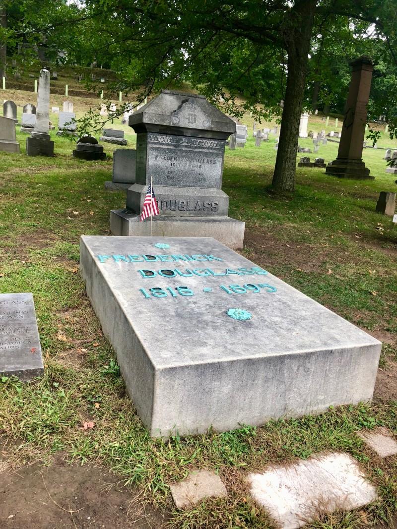 grave of Frederick Douglass