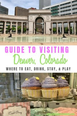 guide to visiting Denver pin