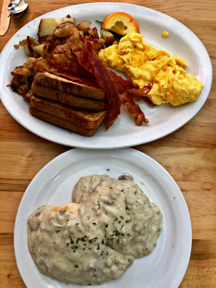 the galley grill breakfast and biscuit