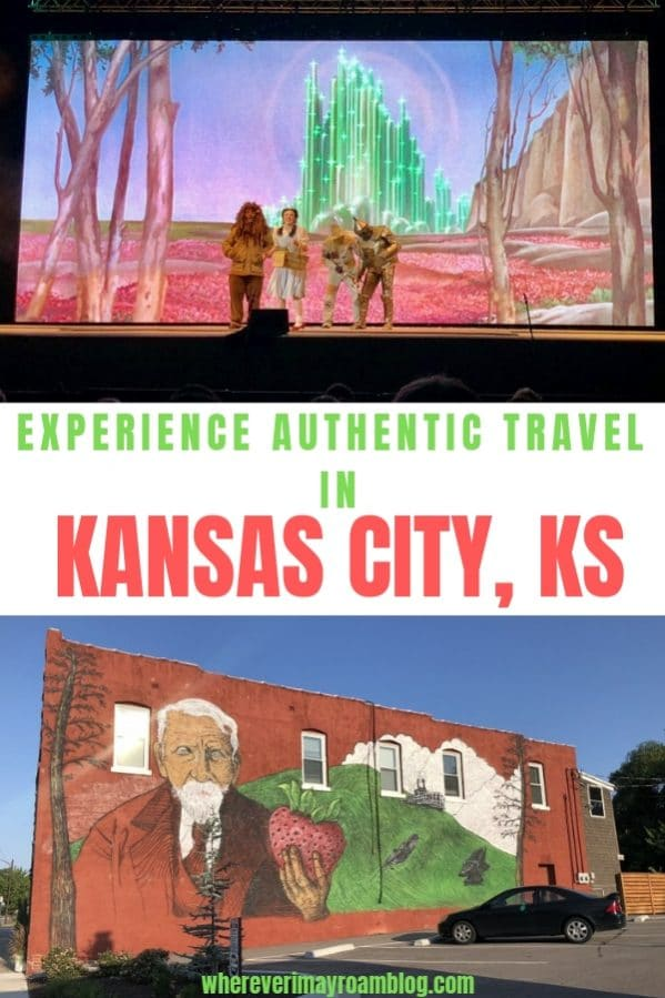authentic travel Kansas City kansas pin