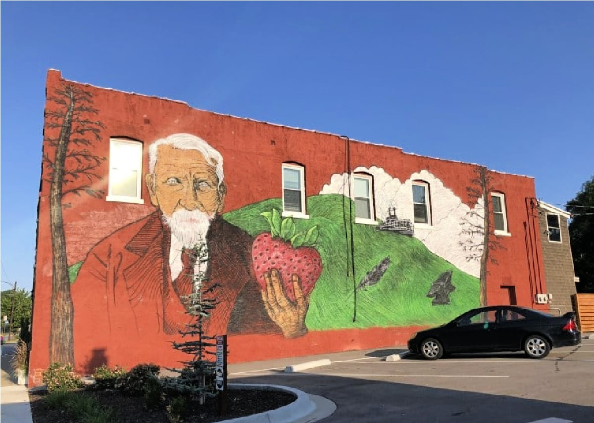 travel in Kansas City includes seeing the ultra cool street art.