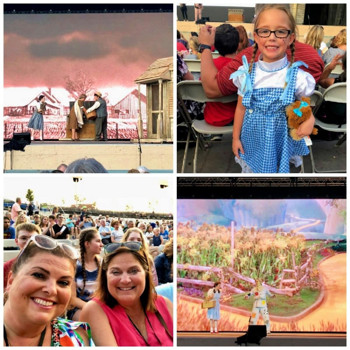 Authentic travel in Kansas City includes seeing an amazing Wizard of Oz production.