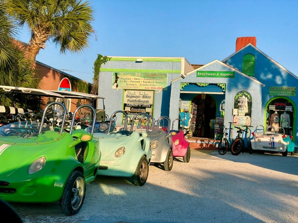 beach cars for rent siesta key