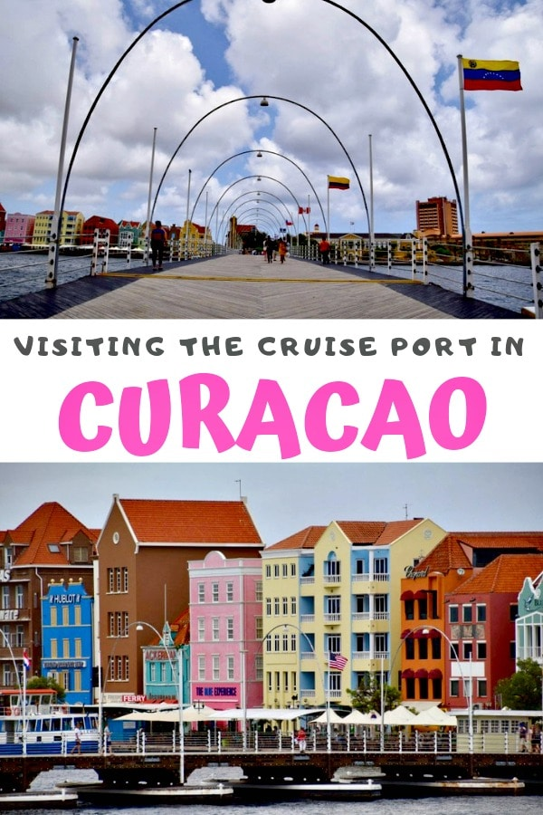 cruise port of curaçao pin
