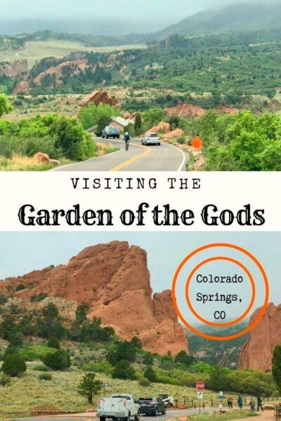 garden of the gods Colorado pin