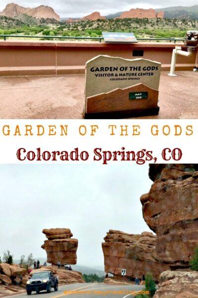garden of the gods pin