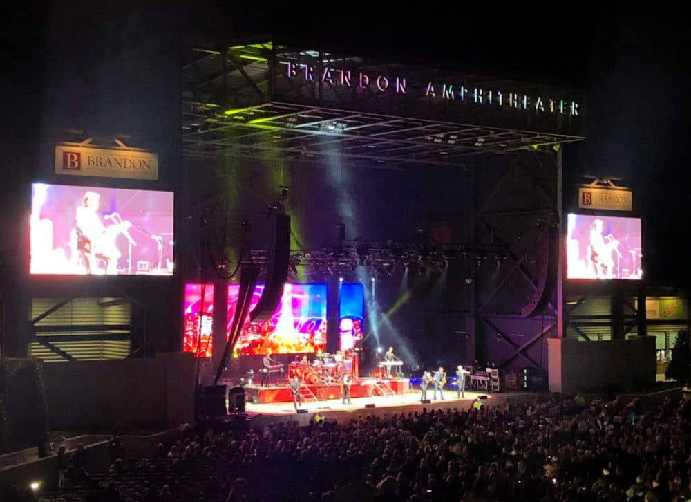 Chicago performance at the Brandon amphitheater