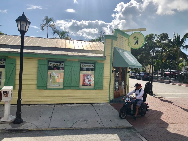 One of the things you won't want to miss in Key West is eating a slice of the world's best key lime pie.