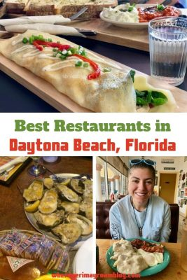 best restaurants Daytona Beach pin