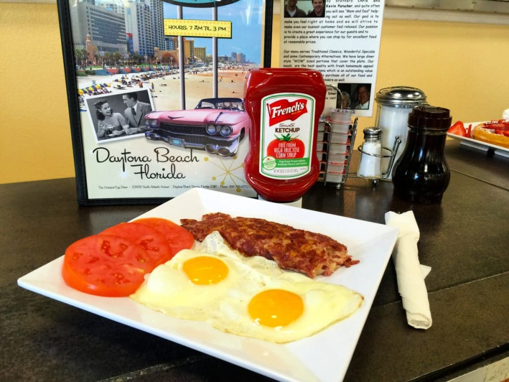 eggs with tomatoes and hash browns the cracked egg diner