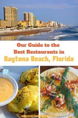 guide to best restaurants Daytona Beach pin