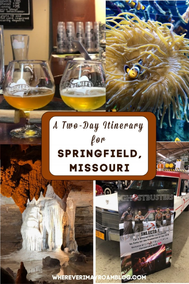 itinerary for springfield missouri