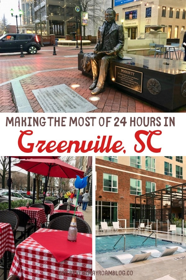 24 hours in Greenville pin