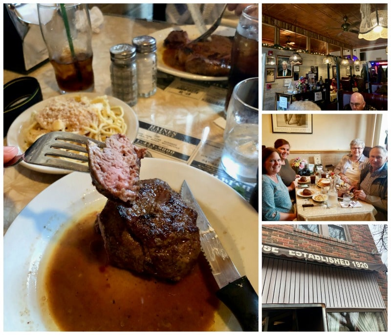 Northwestern Steakhouse is one of the places you should eat in Mason City, Iowa.
