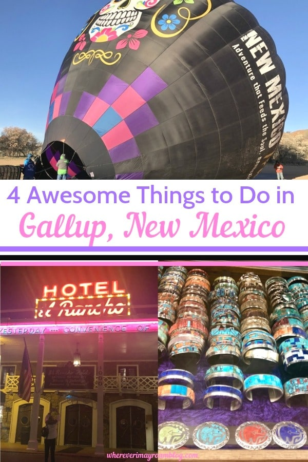 things to do in gallup pin