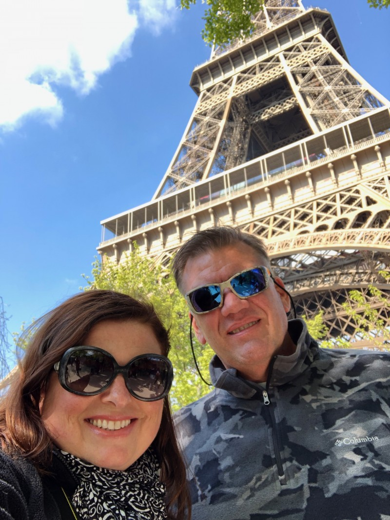 Our Viking River Cruises started with a two day stint in Paris, France, my first time in the City of Lights.