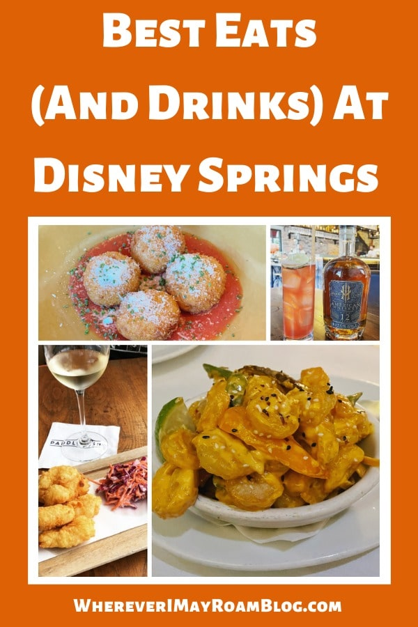 best eats and drinks disney springs
