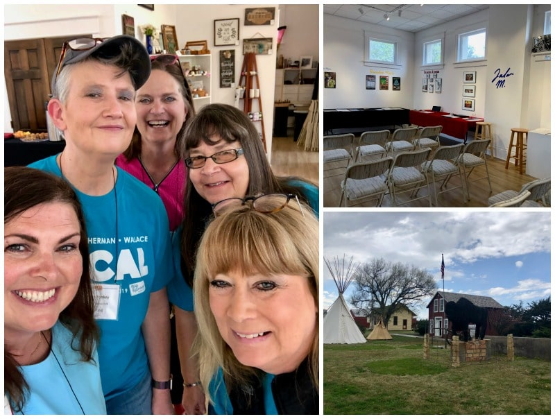 We held a short blogger tourism board workshop at the art gallery in Goodland prior to the Big Kansas Road Trip.
