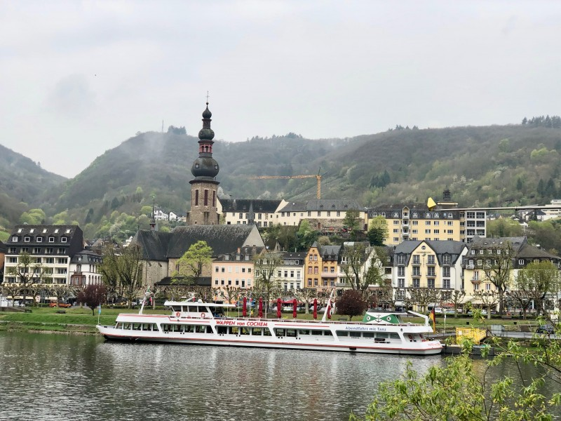 Cochem was one of the most beautiful places we visited on our Paris to Swiss Alps Viking River Cruise.