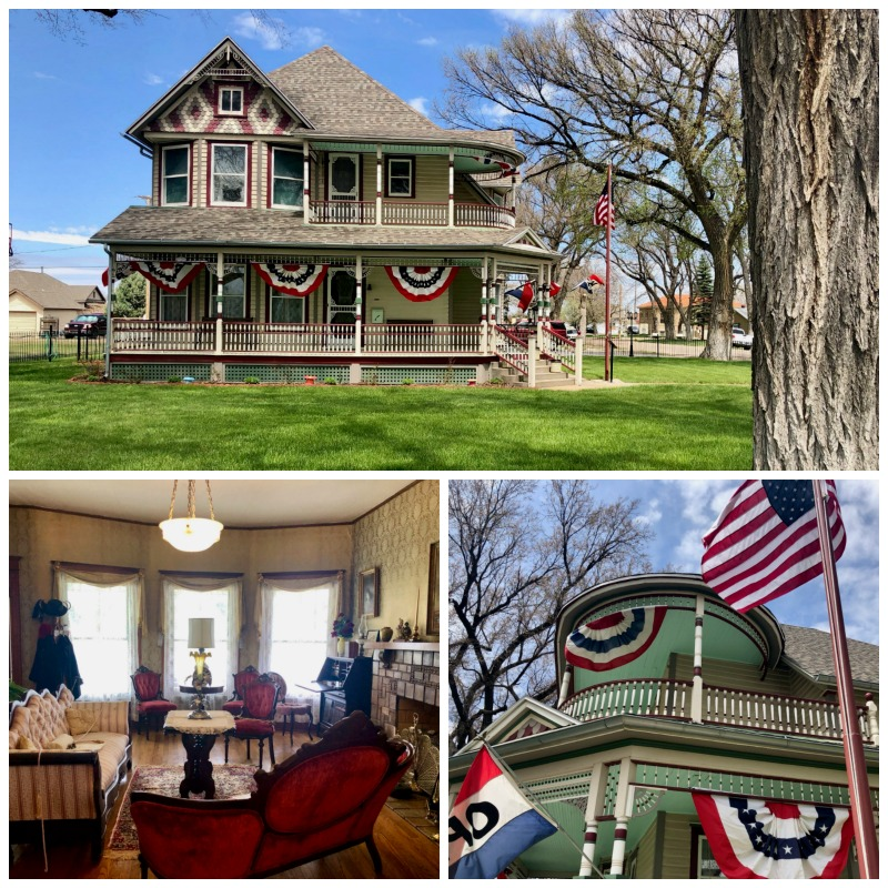 The Ennis-Handy House is a nice historic home to tour in Goodland, Kansas.