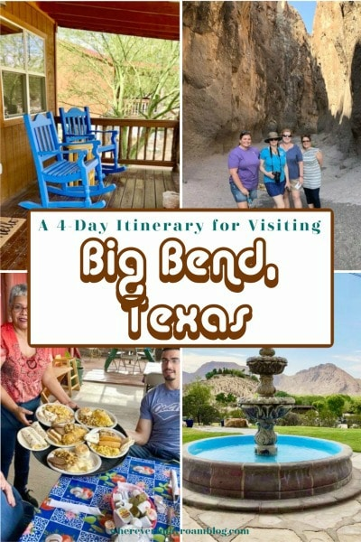itinerary for visiting big bend texas