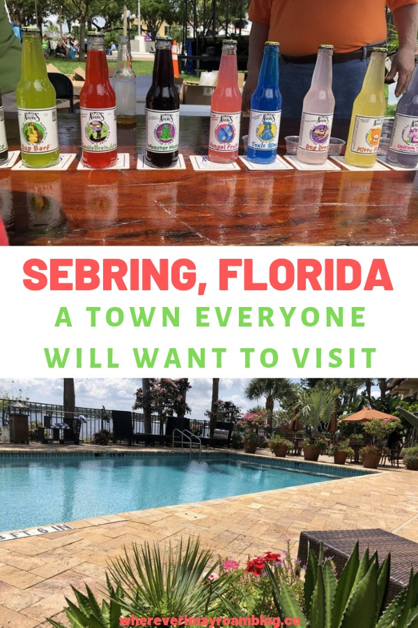 sebring craft soda festival pin