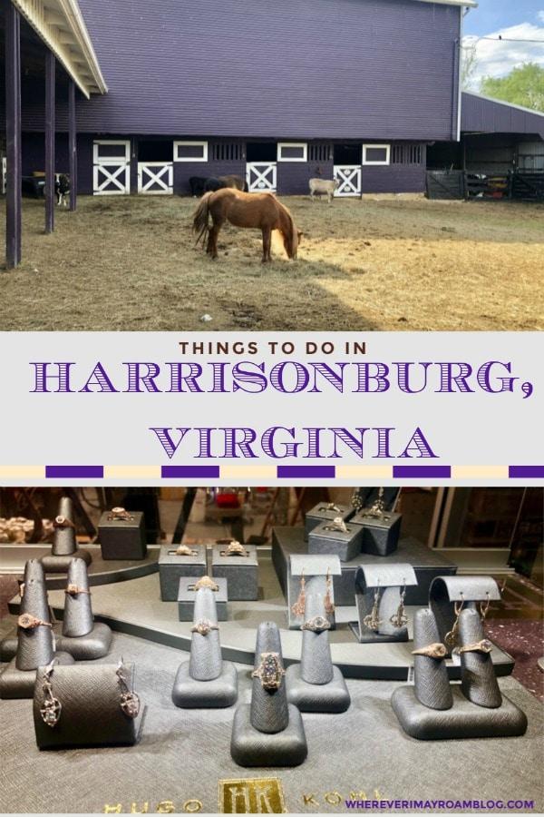 things to do harrisonburg va