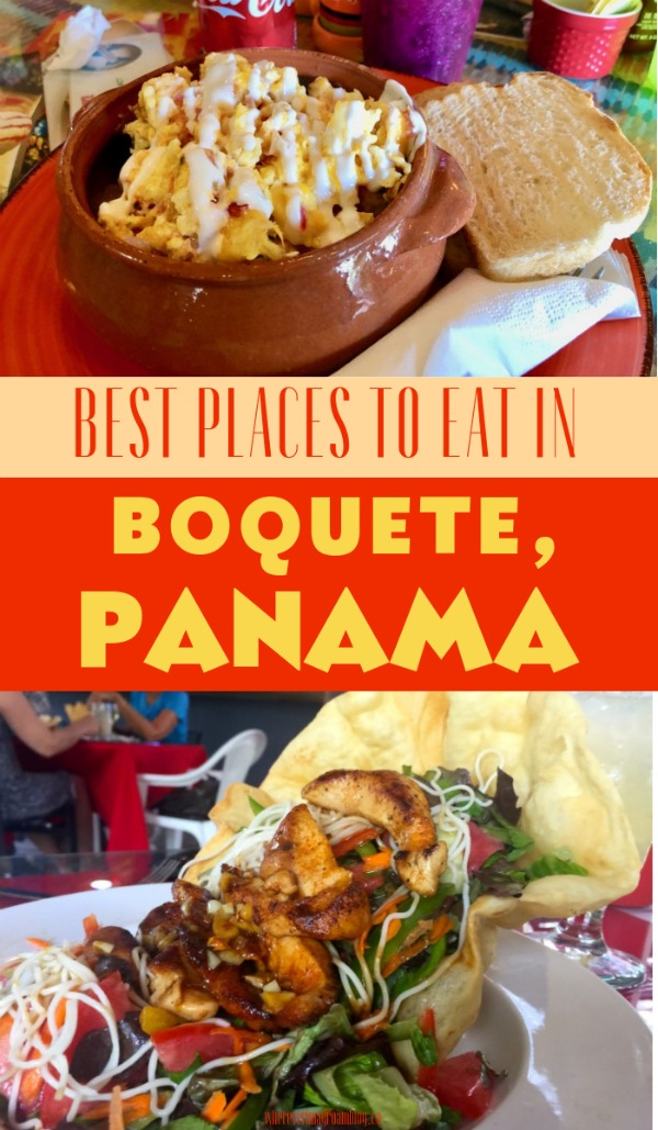 best places to eat in boquete Panama pin
