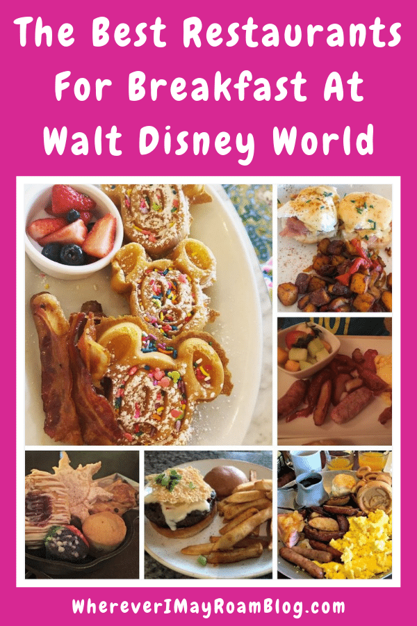 Here is our list of best restaurants for breakfast at Disney World.