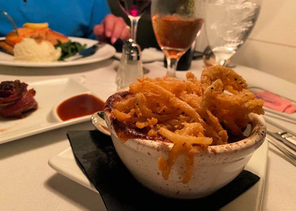 French onion soup chicanes