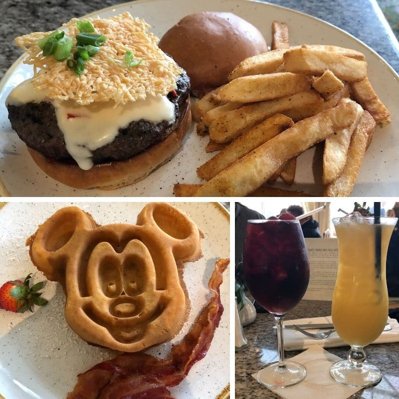 The Grand Floridian Cafe is a great restaurant for breakfast at Disney World.