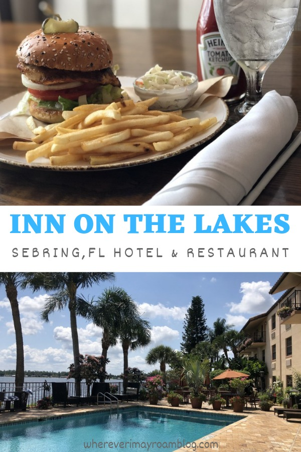 hotel review inn on the lakes Sebring Florida pin