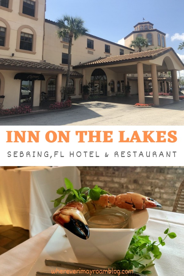 hotel review inn on the lakes Sebring pin
